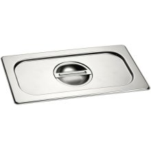 Half Size Stainless Steel Lid GN 410 130