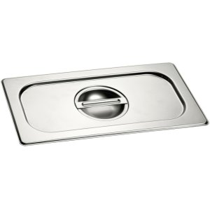 Half Size Stainless Steel Lid GN 410 130 -