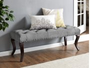 Andrea Bench Grey Product Image