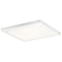 Zeo Collection Zeo 4000K LED 13 Inch square Flushmount WH