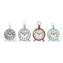Addyson Table Clocks - Ast 4