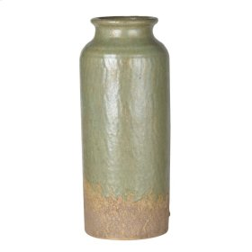 Surry Ceramic Vase Med Green