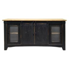 "Stone Brown / Caramel Top 60"" TV Stand"