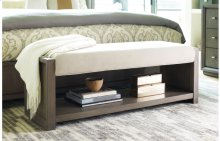 High Line by Rachael Ray Upholstered Bench