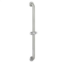 Commercial Slide/Grab Bar - Polished Chrome