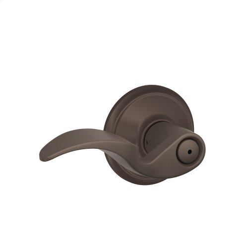 Avanti Lever Bed & Bath Lock - Oil Rubbed Bronze