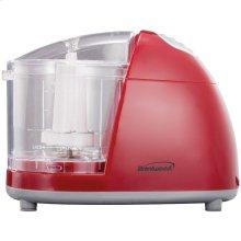 1.5-Cup Mini Red Food Chopper
