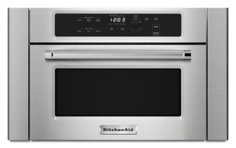 24 Built In Microwave Oven With 1000 Watt Cooking Stainless Steel
