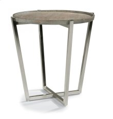 Platform Lamp Table