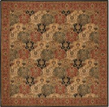 Hard To Find Sizes Grand Parterre Pt04 Multi Square Rug 10'6'' X 10'6''