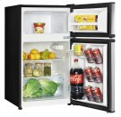3.1 CF Two Door Counterhigh Refrigerator - Stainless Steel Product Image