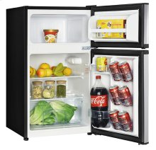3.1 CF Two Door Counterhigh Refrigerator - Stainless Steel