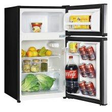 3.1 CF Two Door Counterhigh Refrigerator - Stainless Steel