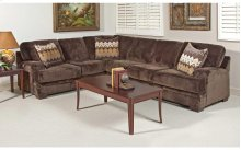 Olympian Chocolate / Padma Otter Sectional