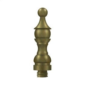 "Royal Finial 3"" - Antique Brass"