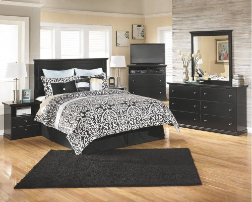 King/California King Panel Bed