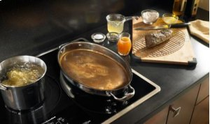 36-Inch 5-Element Induction Cooktop, Architect® Series II - Stainless Steel
