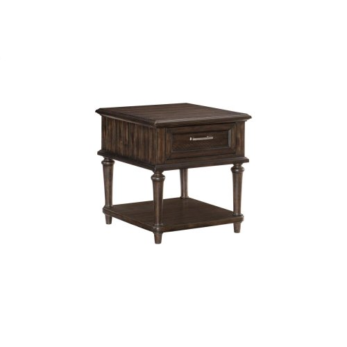 Cocktail Table with Four Functional Drawers