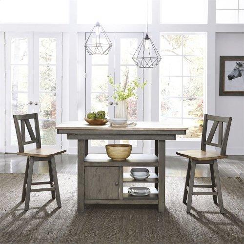 Counter Height Swivel Chair (RTA)