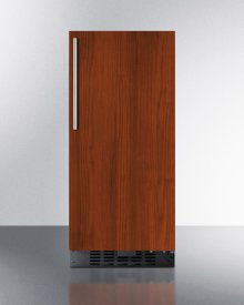 """15"""" Wide All-refrigerator for Built-in or Freestanding Use With Integrated Frame for Overlay Panels; Replaces Ff1538bif\n"""