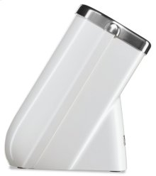 Professional Series Cutlery Block - Frosted Pearl White