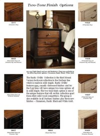 Rustic Civility Collection Finishes Product Image