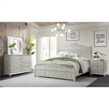 Madison - Eight Drawer Dresser - Rustic White Finish