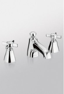 Brushed Nickel Guinevere Widespread Lavatory Faucet, 1.5 GPM