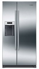 """300 Series 36"""" Freestanding Counter-Depth Side-by-Side Refrigerator, B20CS30SNS, Stainless Steel Product Image"""