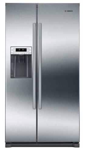 "300 Series 36"" Freestanding Counter-Depth Side-by-Side Refrigerator, B20CS30SNS, Stainless Steel"