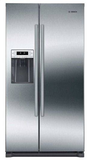 "300 Series 36"" Freestanding Counter-Depth Side-by-Side Refrigerator, B20CS30SNS, Stainless Steel Product Image"
