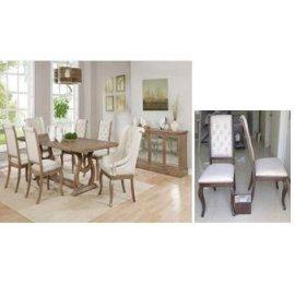 Glen Cove Traditional Cream Arm Chair