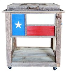 Texas Flag Cooler