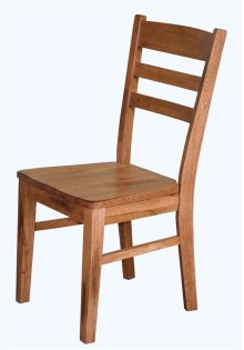 Sedona Ladderback Chair/wooden SEAT