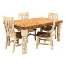 6' White Table