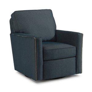 FLEXSTEELHOMEChamberlain Fabric Swivel Chair
