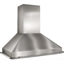 """35 7/8"""" - Stainless Steel Range Hood with Multiple Exterior/In-Line Blower Options"""