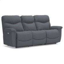 RED HOT BUY-BE HAPPY! PowerRecline La-Z-Time® Full Reclining Sofa