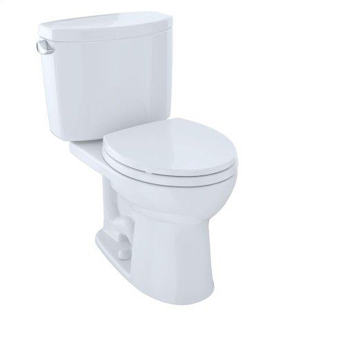 Drake® II Two-Piece Toilet, Round Bowl, 1.28 GPF - Cotton