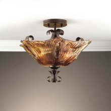 Vetraio, 2 Lt Semi Flush Mount