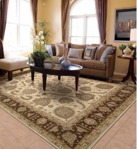Heritage Hall He19 Bge Rectangle Rug 7'9'' X 9'9''