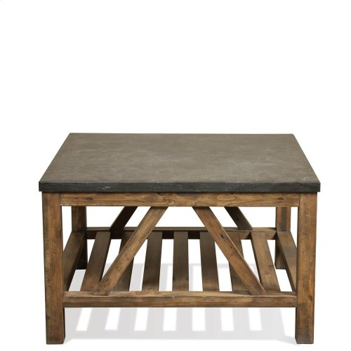 Weatherford - Bunching Coffee Table Top - Bluestone Finish