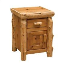 Enclosed Nightstand - Natural Cedar