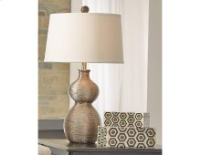 Timber and Tanning Poly Table Lamp (1/CN)