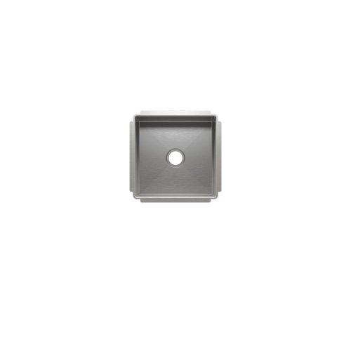 """J7® 003923 - undermount stainless steel Bar sink , 12"""" × 12"""" × 7"""""""
