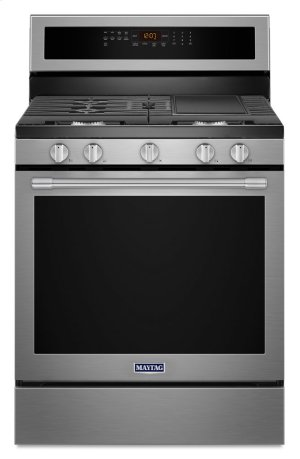 30-Inch Wide Gas Range With True Convection And Power Preheat - 5.8 Cu. Ft. Product Image