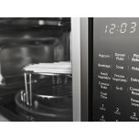 """Kitchenaid 21 3/4"""" Countertop Convection Microwave Oven With Printshield™ Finish - 1000 Watt - Black Stainless Steel With Printshield™ Finish"""