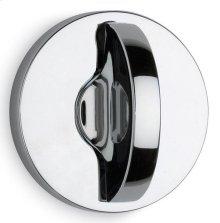 Modern Round Turnpiece in (Modern Round Turnpiece - Solid Brass)