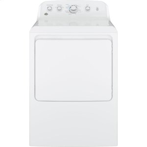 GE®6.2 cu. ft. Capacity aluminized alloy drum Electric Dryer