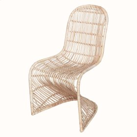 Groovy Rattan Chair, Natural